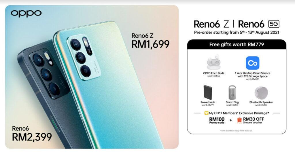 OPPO Reno6 Series Malaysia launch