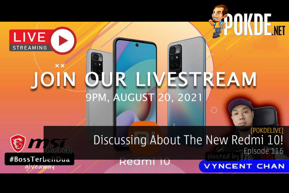 PokdeLIVE 116 — Discussing About The New Redmi 10! 20