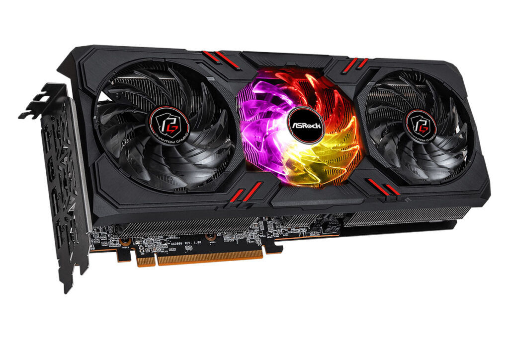 Radeon RX 6600 XT Phantom Gaming D 8GB OC