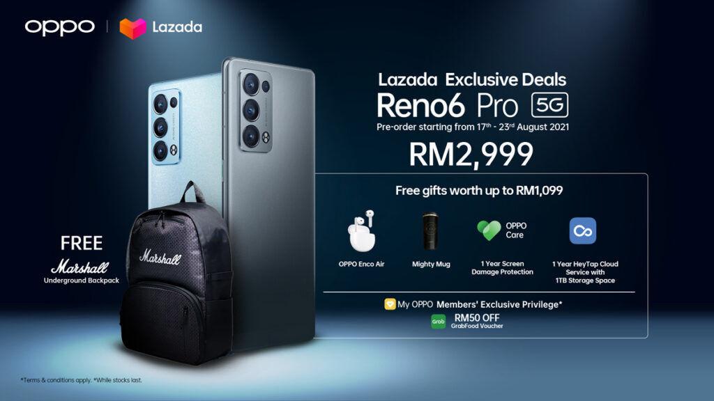 OPPO Reno6 Pro launch Malaysia