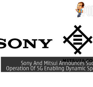 Sony and Mitsui cover
