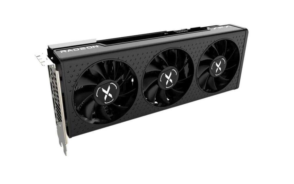 XFX Speedster QICK 308 AMD Radeon RX 6600 XT Black Gaming