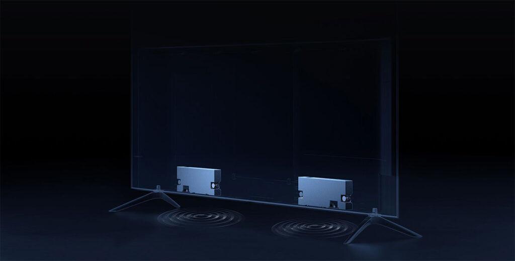 Xiaomi Mi TV 6 OLED audio speakers
