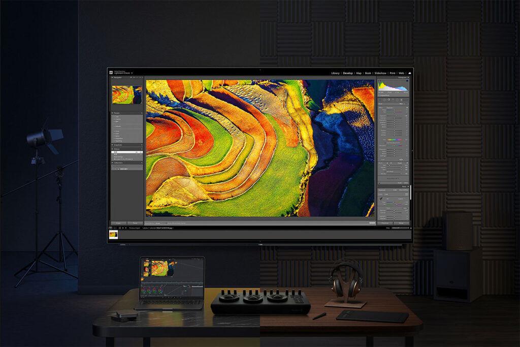 Xiaomi Mi TV Master 77 OLED DCI-P3 color