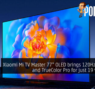 """Xiaomi Mi TV Master 77"""" OLED brings 120Hz G-SYNC support and TrueColor Pro for just 19 999 CNY 25"""