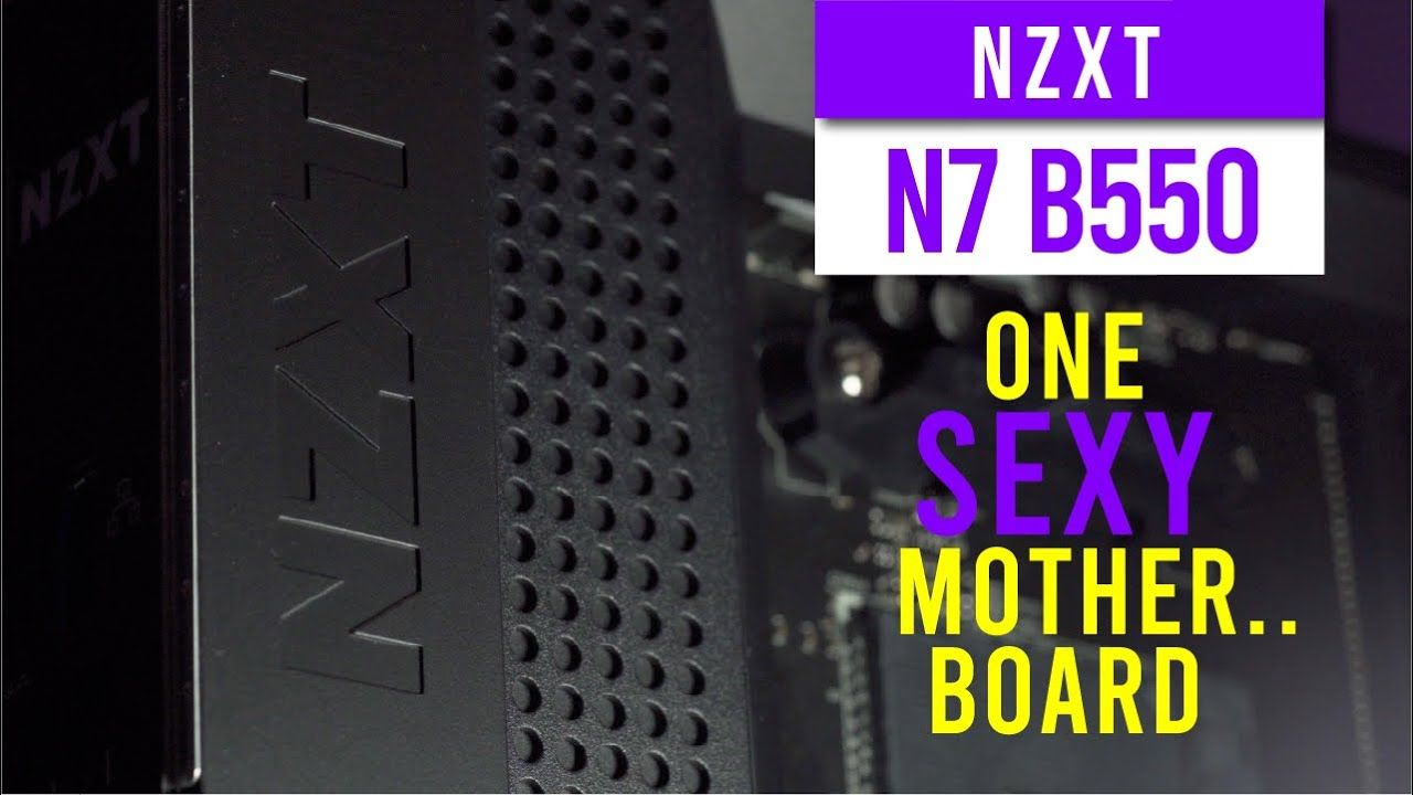 NZXT N7 B550 Overview - Possibly the sexiest motherboard out there 22