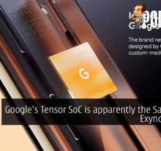 google tensor soc exynos 9855 cover