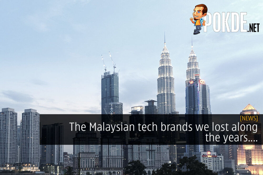 malaysian tech brand we lost cover