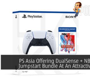 PlayStation Asia Offering DualSense + NBA 2K22 Jumpstart Bundle At An Attractive Price