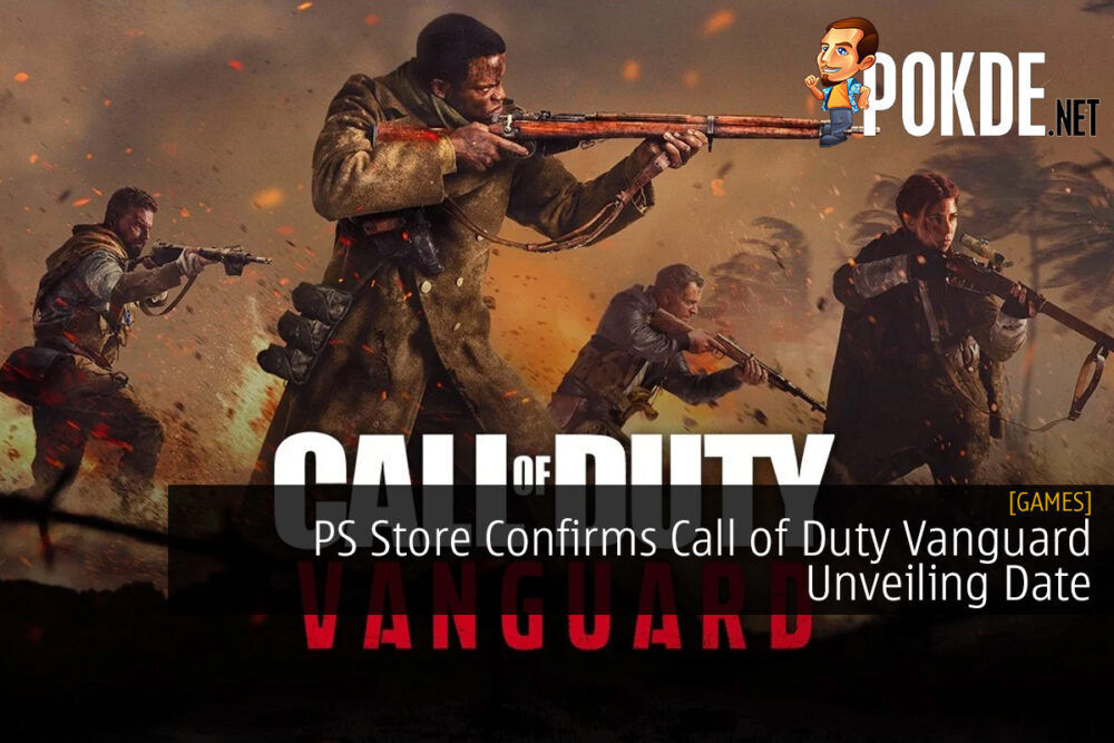 PlayStation Store Confirms Call of Duty Vanguard Unveiling Date