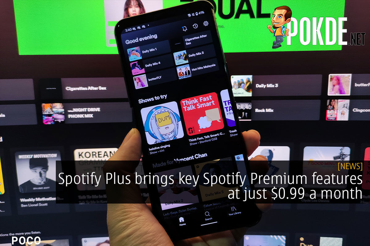 Spotify Plus brings key Spotify Premium features at just $0.99 a month 5