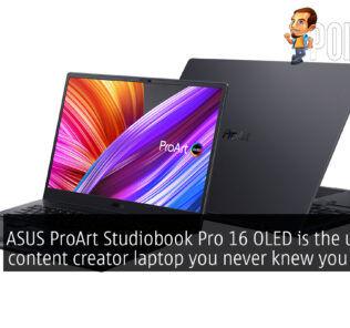 ASUS ProArt Studiobook Pro 16 OLED ProArt Studiobook 16 OLED cover