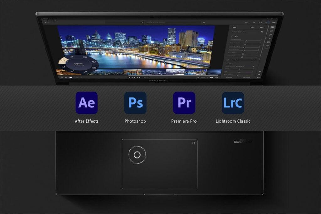 ASUS Vivobook Pro 14X ASUS DialPad