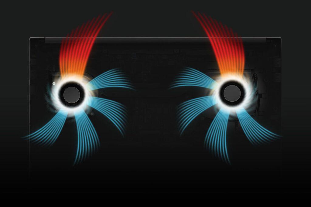ASUS Vivobook Pro 14X cooling