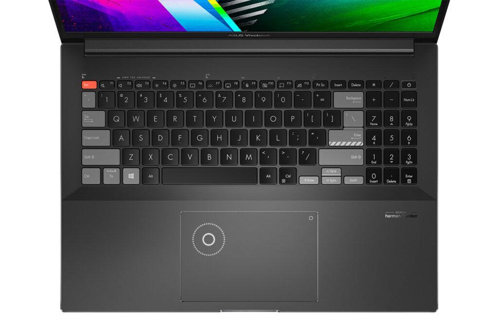ASUS Vivobook Pro 16X OLED keyboard