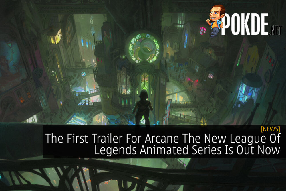 Arcane First Trailer cover