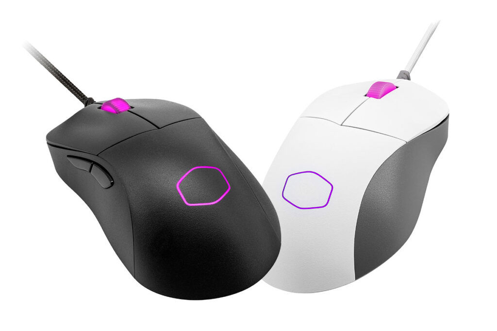 Cooler Master MM730 black and white