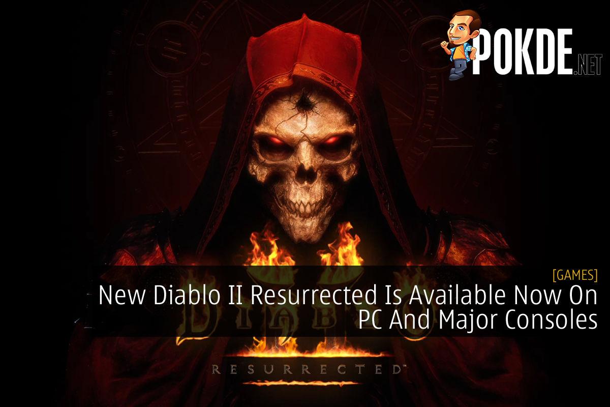 Diablo II Resurrected Release cover