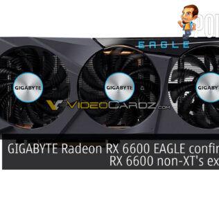 GIGABYTE Radeon RX 6600 EAGLE leak cover