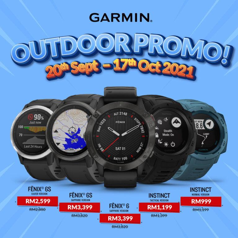 Garmin Malaysia Run and Outdoor promo