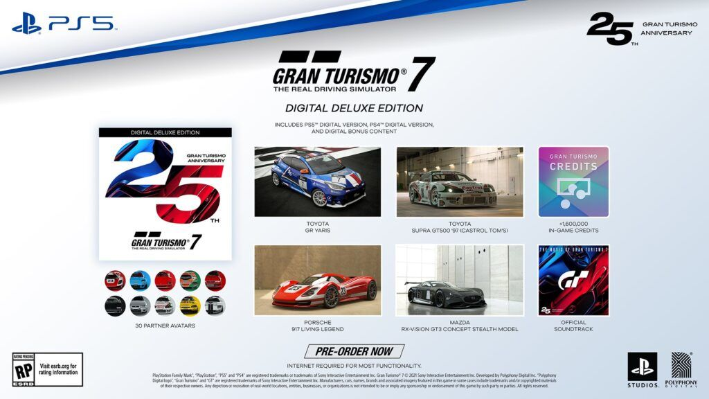 Pre-orders For New Gran Turismo 7 Open Now, Details On 25th Anniversary Edition Revealed 28
