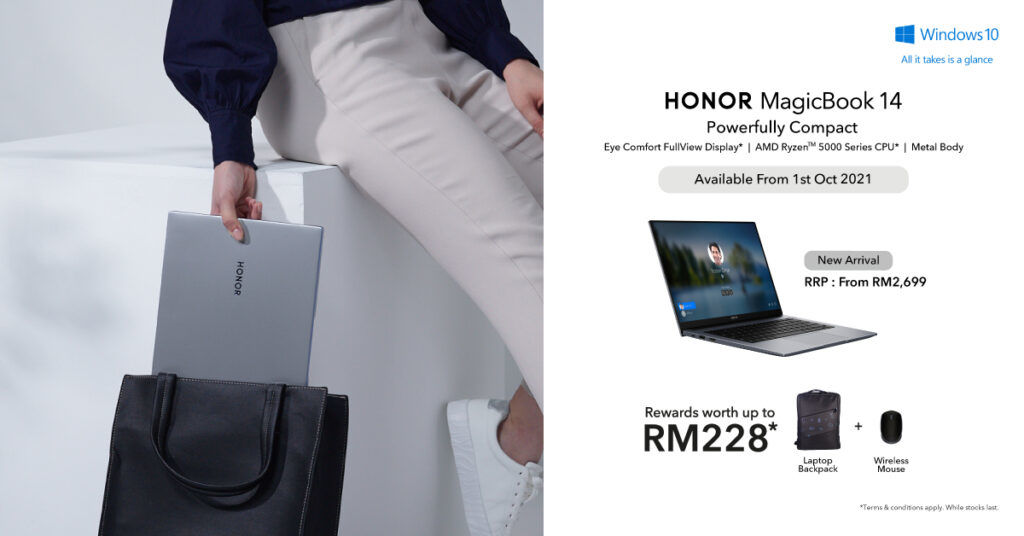 HONOR MagicBook 14 With Ryzen 5000 Is Coming Soon To Malaysia 28
