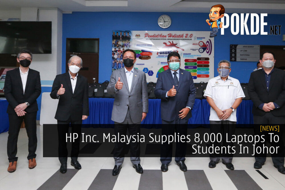 HP Inc. Malaysia Supplies 8,000 Laptops To Students In Johor 21