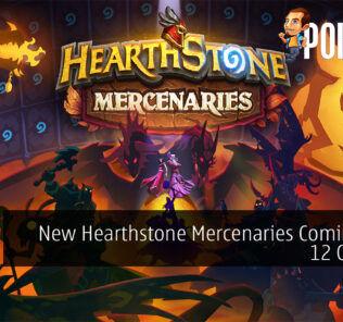 Hearthstone Mercenaries cover