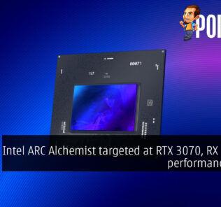 Intel ARC Alchemist targeted at RTX 3070, RX 6700 XT performance levels 22
