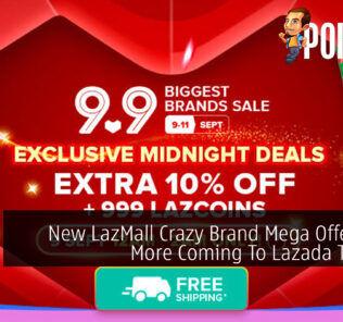 LazMall Crazy Brand Mega Offers cover