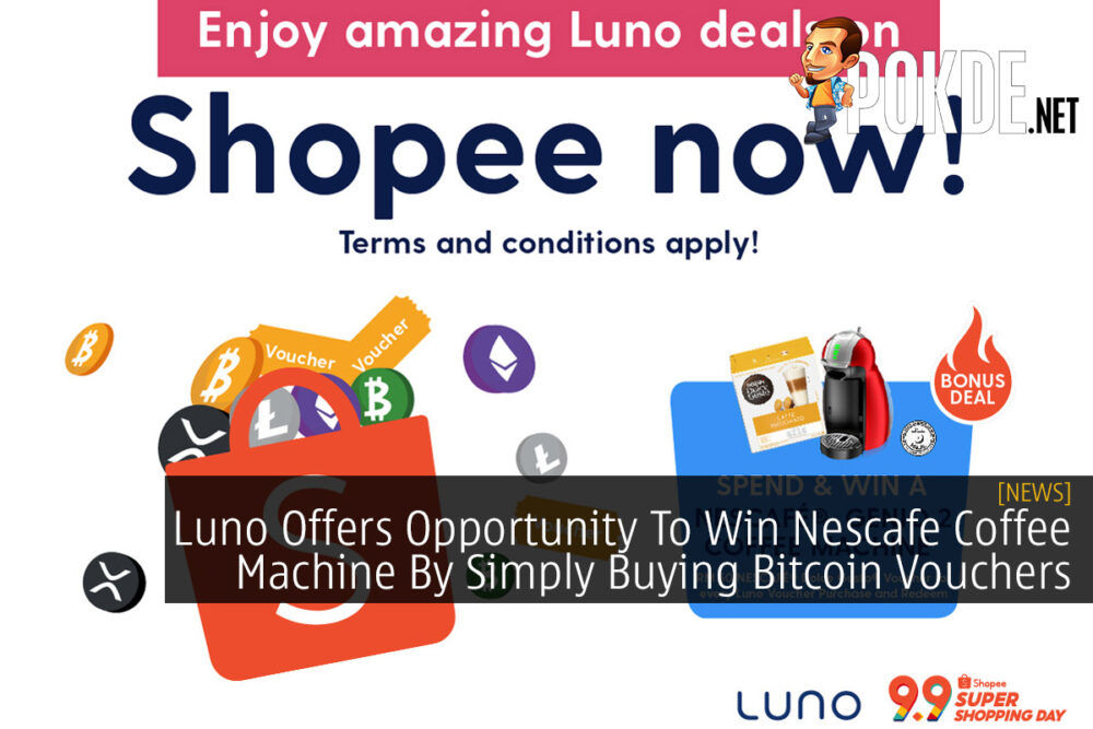 Luno Offers Opportunity To Win Nescafe Coffee Machine By Simply Buying Bitcoin Vouchers 21
