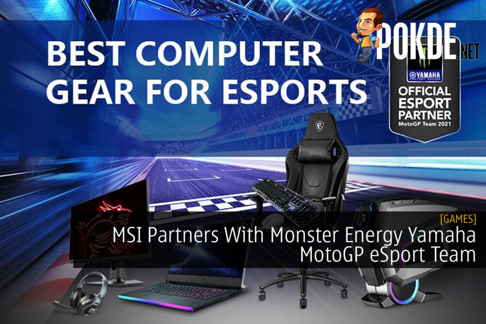 MSI Partners With Monster Energy Yamaha MotoGP eSport Team 29