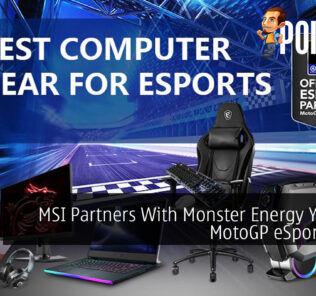 MSI Partners With Monster Energy Yamaha MotoGP eSport Team 22