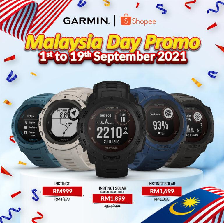 Garmin Malaysia Day promo