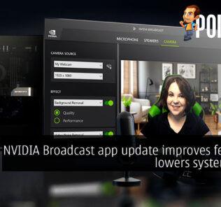 NVIDIA Broadcast App 1.3 update cover