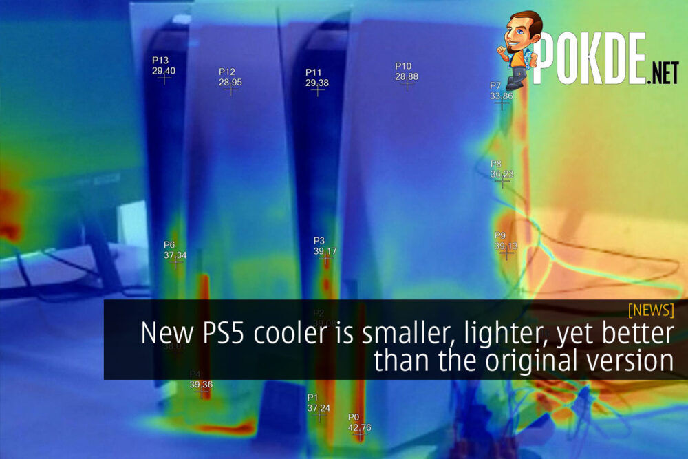 New PS5 vs old PS5 cooling cover