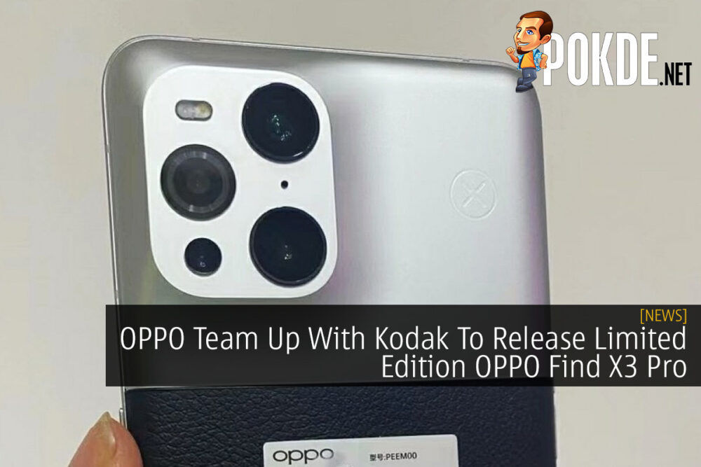 OPPO Team Up With Kodak To Release Limited Edition OPPO Find X3 Pro 21