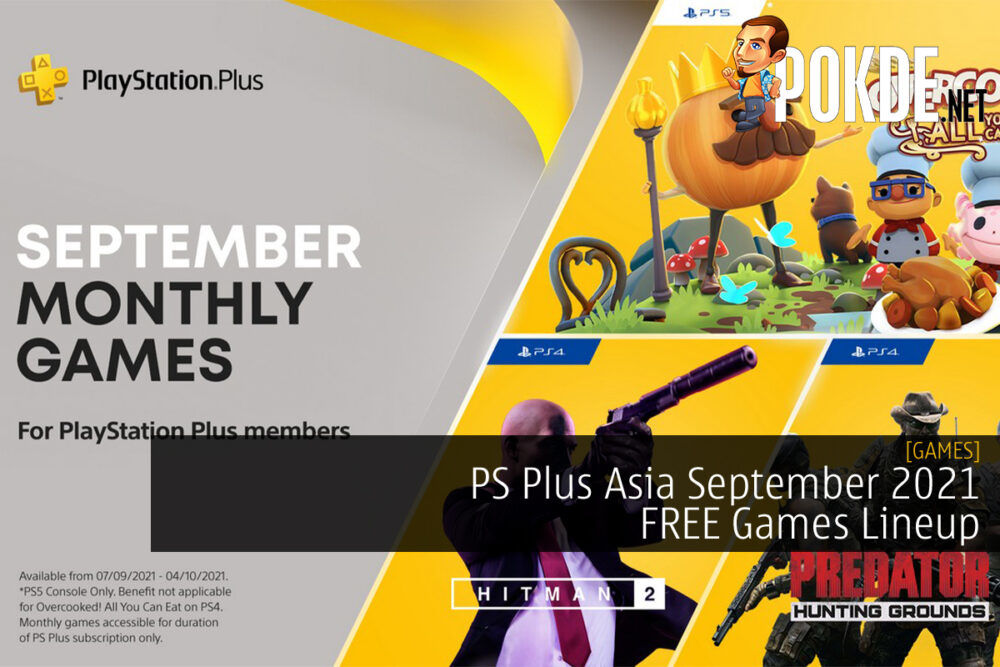 PS Plus Asia September 2021 cover