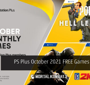 PS Plus October 2021 FREE Games Lineup cover