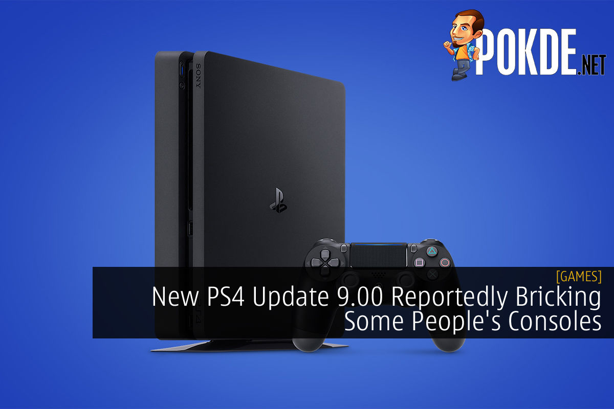 New PS4 Update 9.00 Reportedly Bricking Some People's Consoles 10