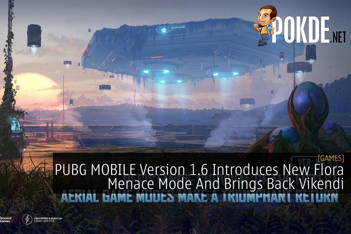 PUBG MOBILE Version 1.6 Flora Menace cover