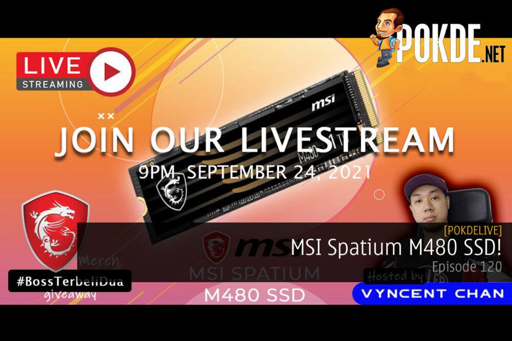 PokdeLIVE 120 — MSI Spatium M480 SSD! 27