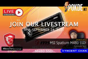 PokdeLIVE 120 — MSI Spatium M480 SSD! 25