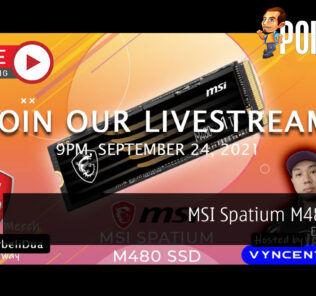 PokdeLIVE 120 — MSI Spatium M480 SSD! 29