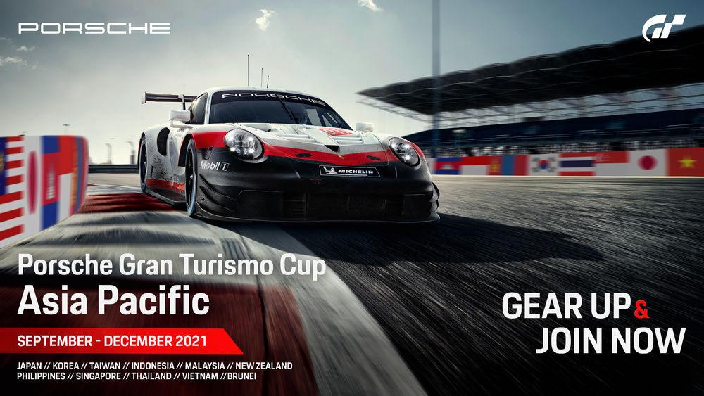 Porsche Announces New Porsche Gran Turismo Cup Asia Pacific Esports Event 20