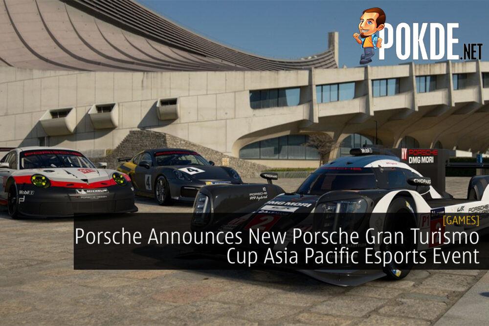 Porsche Gran Turismo Cup Asia Pacific cover