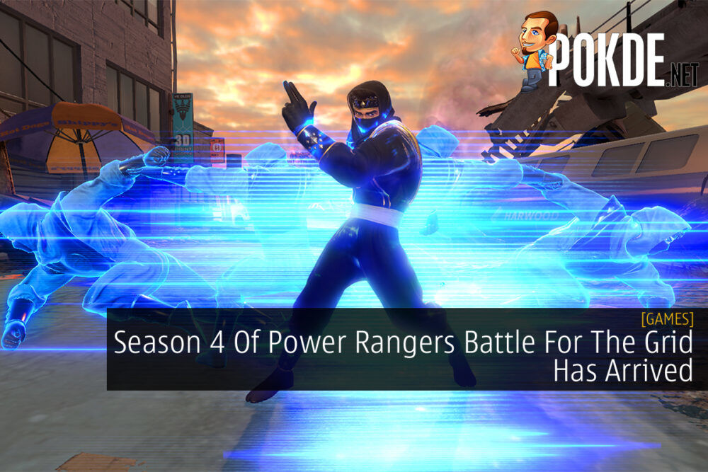 Power Rangers Battle For The Grid cover