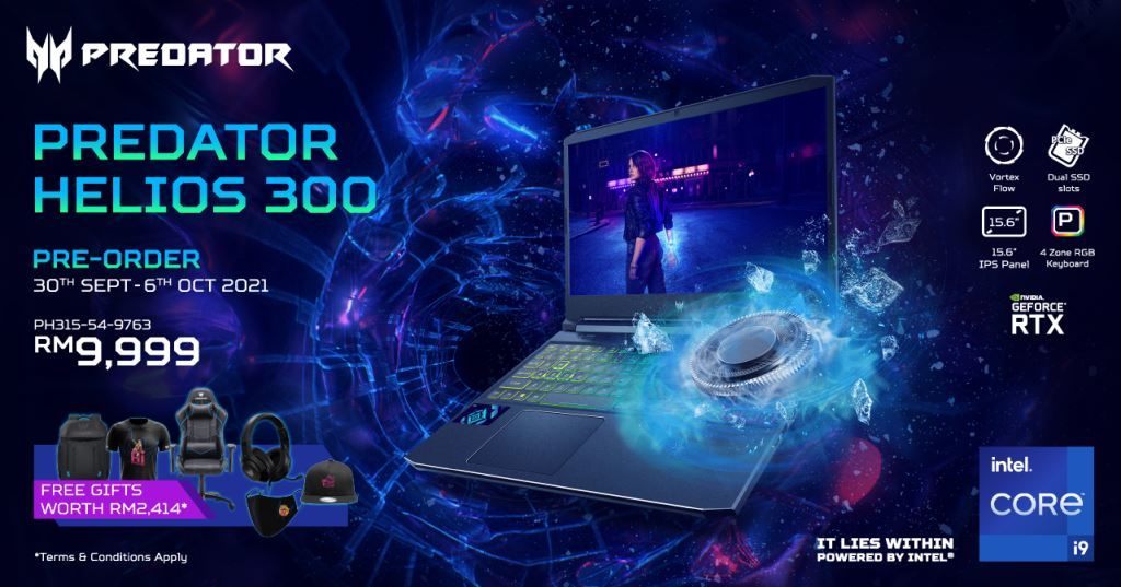 New Acer Predator Gaming Laptops Launched in Malaysia
