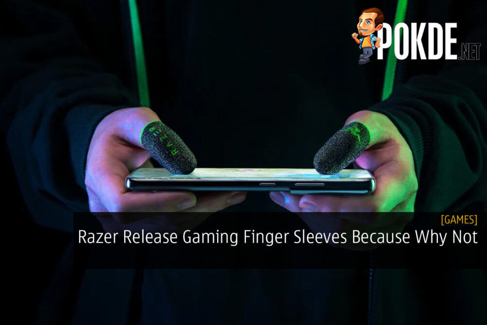 Razer Release Gaming Finger Sleeves Because Why Not 21