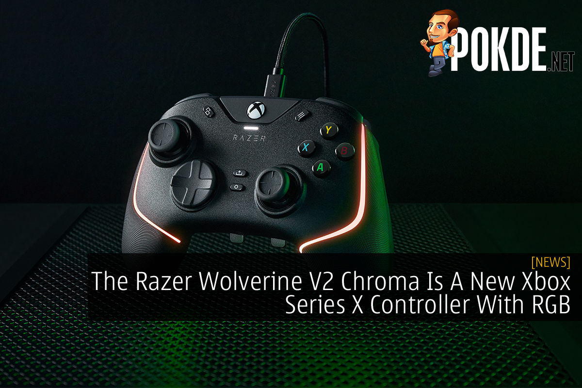 Razer Wolverine V2 Chroma cover